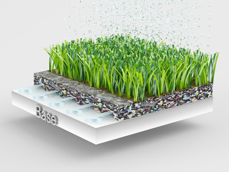 03 ProPlay-Sport Base (Horizontal drainage - gesloten folie)